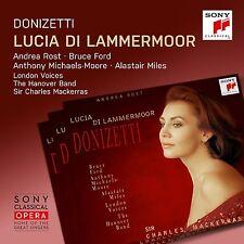 Donizetti-Lucia di Lammermoor Charles Mackerras Andrea rouille Bruce Ford 2cd OVP