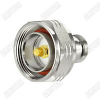 N Type Female Jack to L29 7/16 Din Male Plug RF Coaxial Connector Adapter F/M