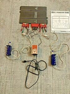 Strombecker 1/24 Scale Start Track with Controllers and Power Pack