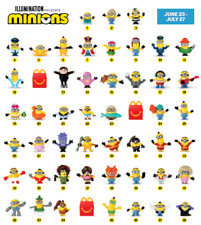McDonald's 2020 Happy Meal Toys - Minions