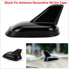 Black New Autos Car Roof Top Shark Fin Antenna Dummy Aerial Decorative Antenna