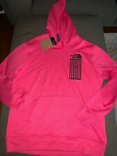 NWT MEN'S The North Face 92 Retro Rage Pullover Hoodie Rose Red M,L,XXL $80
