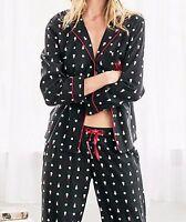Women Victoria's Secret Comfortable black Pajama Sleepwear Nighties Pants Set