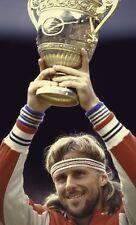 Retro BJ Borg Wristbands & Fila Headband-Sweatband-Tennis-Fancy Dress.