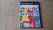 Disney Sing It (Sony PlayStation 2, 2008) - European Version