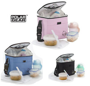 Polar Gear Insulated Cool Bag Keeps Cold & Hot Baby Meals or School Lunch Pouch