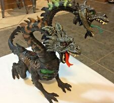 2 Headed Poseable Dragon Hydra Large Action Figure Chap Mei dungeons fantasies