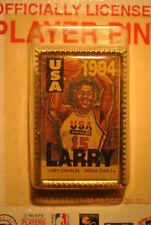 LARRY JOHNSON - 1994 USA BASKETBALL DREAM TEAM II - VINTAGE PLAYERS PIN