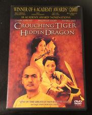 Crouching Tiger, Hidden Dragon (Dvd, 2001 Widescreen) Chow Yun-Fat