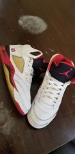 Nike Air Jordan Retro V Fire Red 136027 162 Sz 8.5 Black Red Bred IV XI IX XII