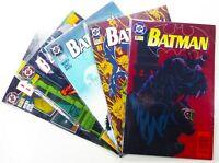 DC Comics BATMAN #520 521 522 523 524 LOT Doug MOENCH Ships FREE!