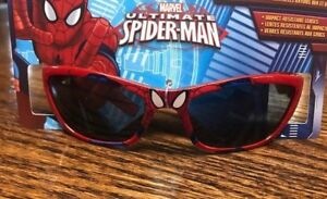 Boys Kids MARVEL Spiderman Spider-man  Sunglasses 100% UVA And UVB Protection 1