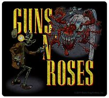 Sticker Guns N' (and) Roses Band Name & Art Metal Rock Music Decal