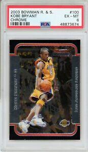 2003 Bowman R&S Kobe Bryant PSA