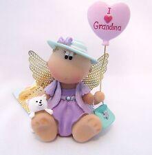Angel Cheeks I Love Grandma figurine Russ Berrie tag free gift bag new