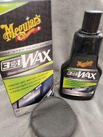 MEGUIARS 3 in 1 Wax Polish Kit, 16 oz - Brand New!