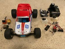 team associated rc10gt with electric conversion and transmitter