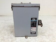 Siemens ITE NFR321 3 Pole 3R Disconnect Switch 30 A 240 V