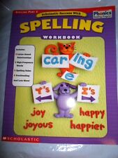 SCHOLASTIC PHONICS LEARNING TO READ READING SUCCESS WITH SPELLING PART 1 BOOK