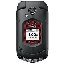 Kyocera DuraXV + E4520 PTT (Verizon) Prepaid Page Plus 3G Rugged Flip Cell Phone