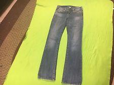 Silver Jeans Women's Light Denim Pioneer Boot Cut Jeans. Size 26x33