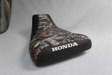 Honda Rubicon 500 2001-04 Logo Camo Top Seat Cover #nw1774mik1773