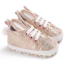 LK _ eg _ Bebé Niño Niña Lindo Conejo Orejas Sneakers Piel Sintética Sho