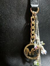New Custom Your Name on Rice 4 Charms Keychain Purse Charm Animal Glass Vials