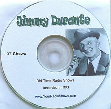 Jimmy Durante 1 CD 37 Shows-1944-1948-Old Time Radio-Comedy-ONLY $3.99-FREE S&H