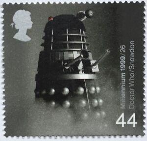 Dr Who Dalek Postage Stamp - MNH - Postage Combined