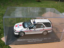 1/43 METAL RENAULT LAGUNA I BREAK NEVADA RXE 1998 POLICE NATIONALE !!