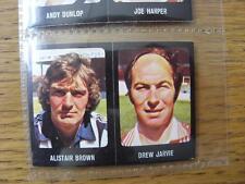 1979/1980 Football Sticker 79/80: 396) Aberdeen - Drew Jarvie & 284) West Bromwi