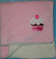 Baby Gear Pink & Cream Cupcake Thick Blanket