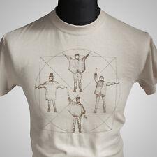 El DaVinci Beatles ayuda Retro T Shirt Classic Vintage Banda Cool Tee
