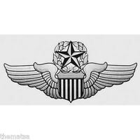 USAF AIR FORCE COMMAND PILOT WING 5.5 INCH MILITARY DECAL STICKER  MILITARY