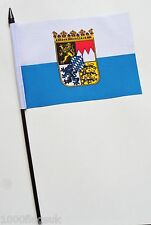 Germany Bayern Small Hand Waving Flag