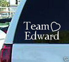 Team Edward Twilight Vinyl Window Sticker Decal Laptop
