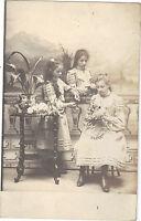 Photographie ancienne - Jeunes filles