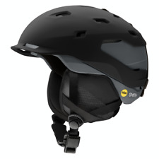Smith Quantum MIPS Snow Helmet - Men's - X-Large, Matte Black/Charcoal