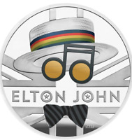1oz Elton John 2020 UK One Ounce Silver Proof Coin Limited Edition 7500
