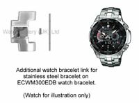 Genuine Casio Watch Link for ECW-M300EDB Stainless Steel Watch Bracelet.