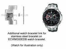 Genuine Casio Watch Link for ECW-M300EDB Stainless Steel Watch Bracelet.