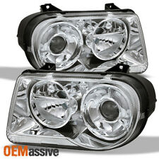Fits 05-10 Chrysler 300C Replacement Projrctor Headlights 4805863Ah 4805862Ah
