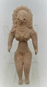ANCIENT INDUS VALLEY HARAPPAN TERRACOTTA FERTILITY FIGURINE 2000 BCE