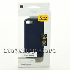 OtterBox SYMMETRY Snap Thin Slim iPhone SE iPhone 5 iPhone 5s Case - Navy Blue