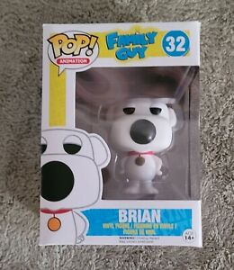📀 FUNKO POP! TELEVISION: FAMILY GUY - BRIAN 32 VINYL FIGURE