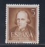 ESPAÑA (1950) MNH NUEVO SIN FIJASELLOS SPAIN - EDIFIL 1071 (5 cts) - LOTE 1