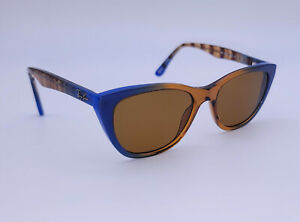 Ray-Ban RB 5322 5488 Gradient Brown on Blue Cat Eye Glasses Frame Only 51-18-140