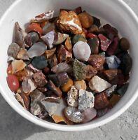 Medium Large Stones Bulk Lots Rock Tumbling Rough Variety Agate Jasper