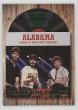 2014 Panini Country Music Top of the Charts Retail Green #3 Alabama Card 1s8